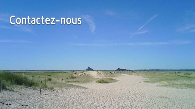 contactez la maison du guide de la baie du mont saint michel