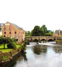 Moulin de Ducey, hôtel de charme trois étoiles proche du Mont Saint Michel, dans la Manche, en Normandie